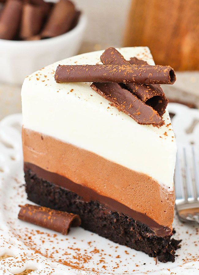 Easy Chocolate Mouse Cake