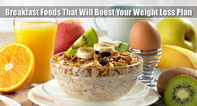 Good Weight Loss Foods for Breakfast