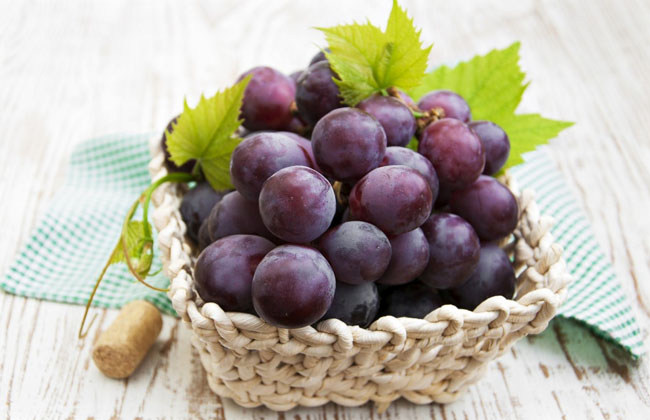 How Much Fiber In Grapes