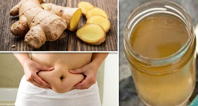 Horseradish, Ginger, Lemon and Cinnamon Syrup for Weight Loss Fast