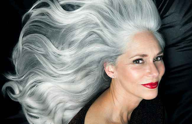 Gray hair naturally tend to be colour resistant